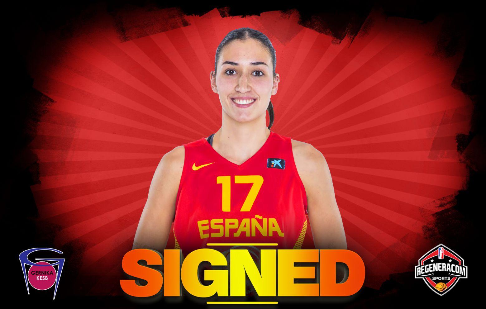 BELÉN ARROJO has signed in Spain with Gernika Bizkaia