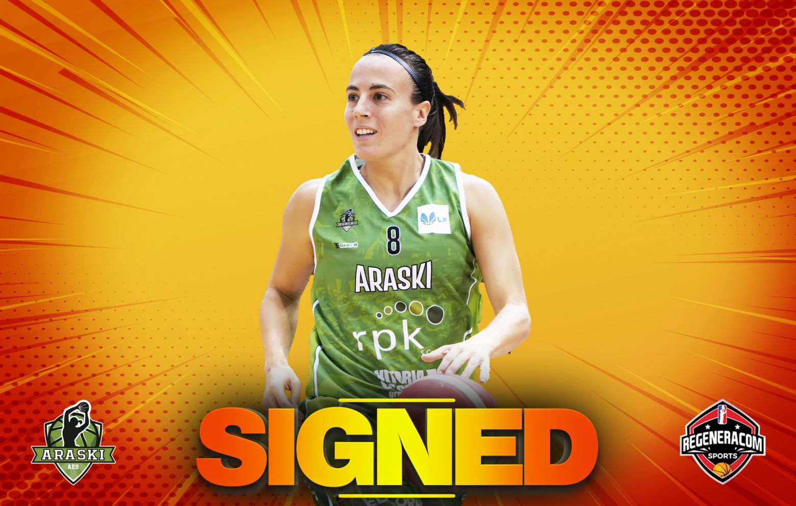 MARÍA ASURMENDI has signed in Spain with Araski
