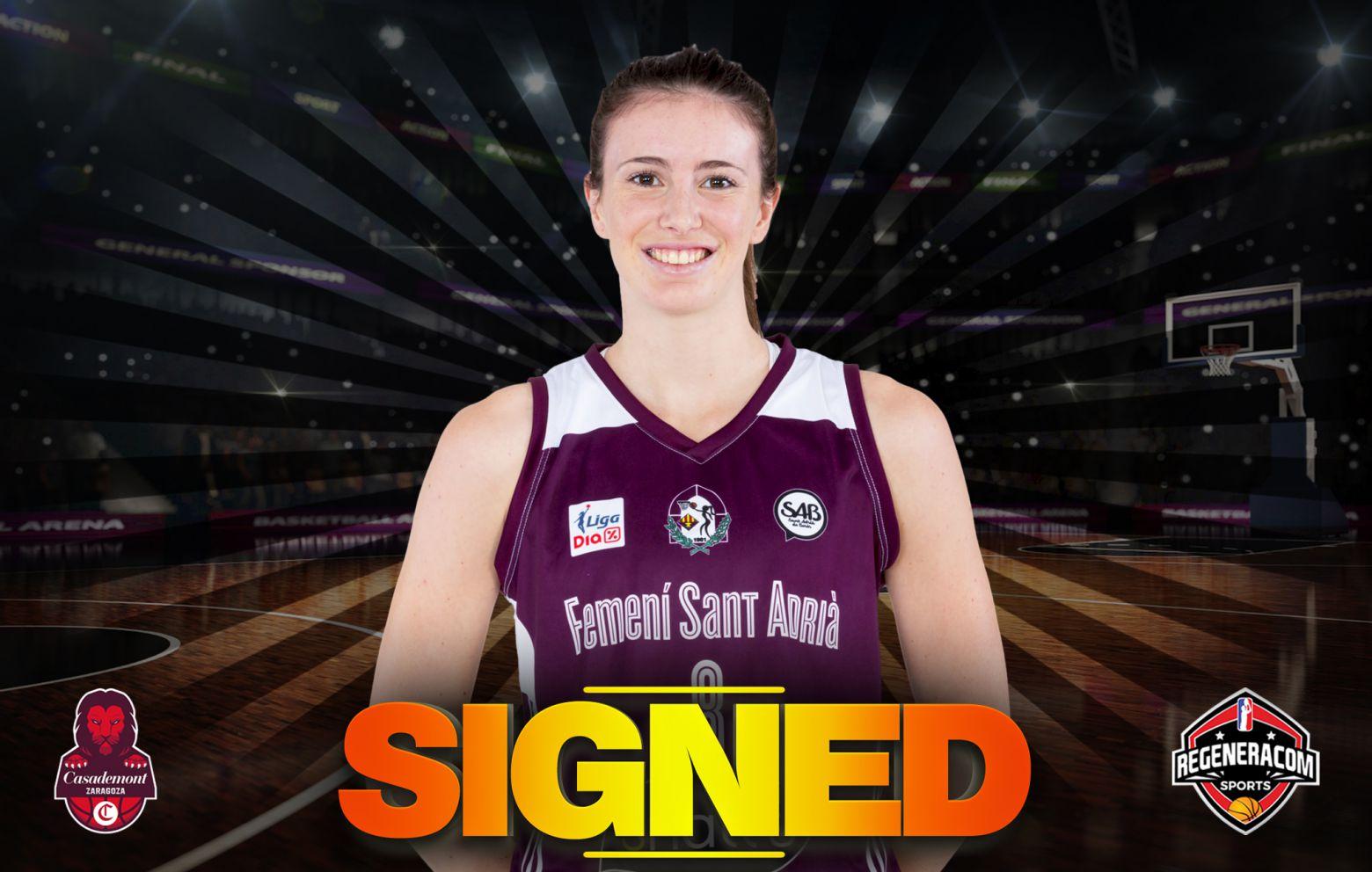 AINA AYUSO ha firmado con Casademont Zaragoza