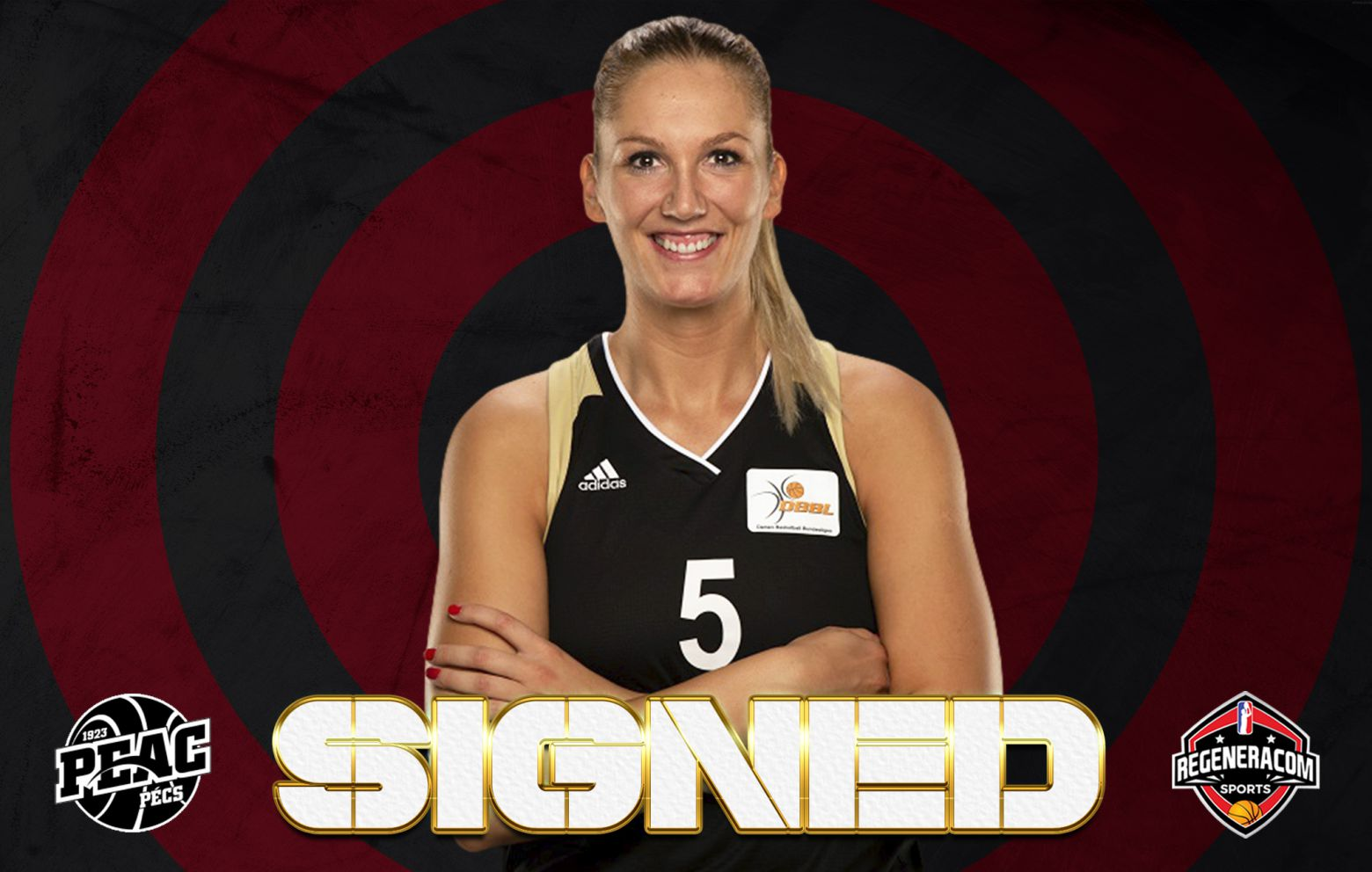 IVANA BRAJKOVIC has signed in Hungary with PEAC Pecs for the 2021/22 season