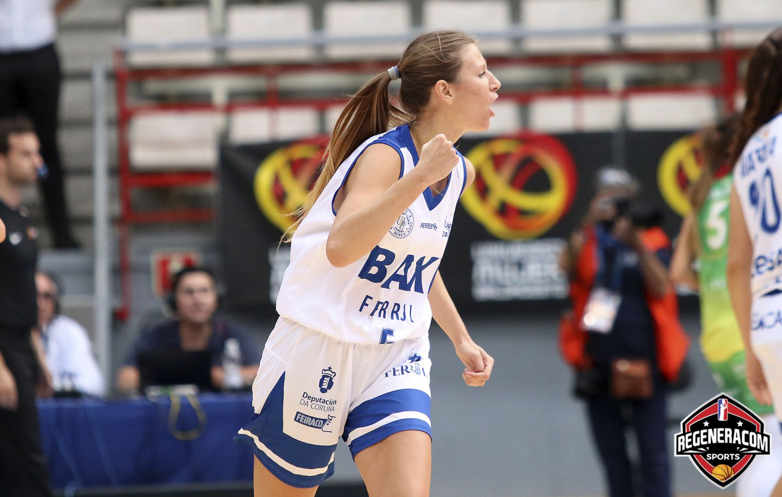 ANI CALVO has signed in Spain with Campus Promete