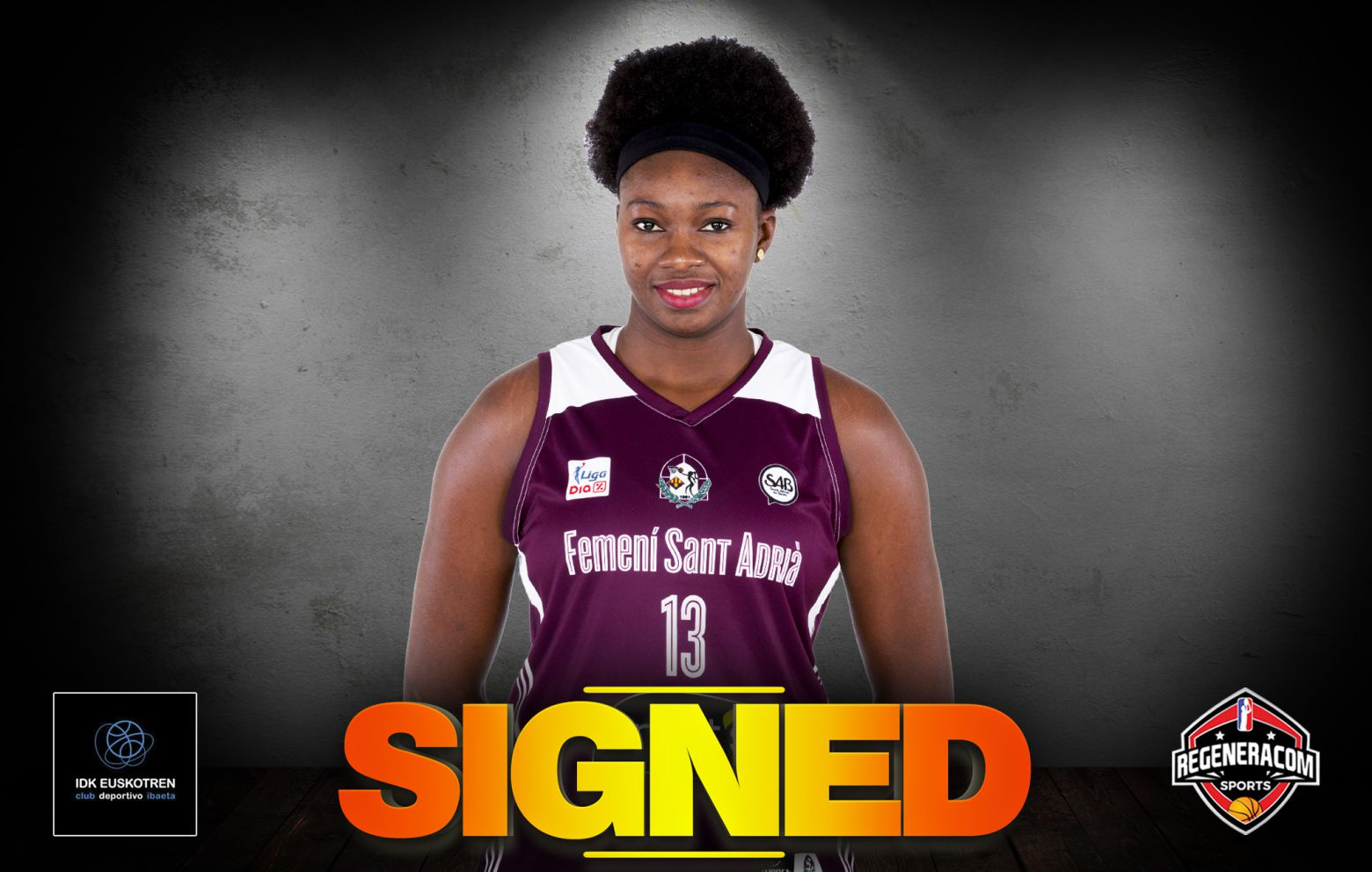MARIAM COULIBALY has extended with IDK Euskotren for the 2021/22 season