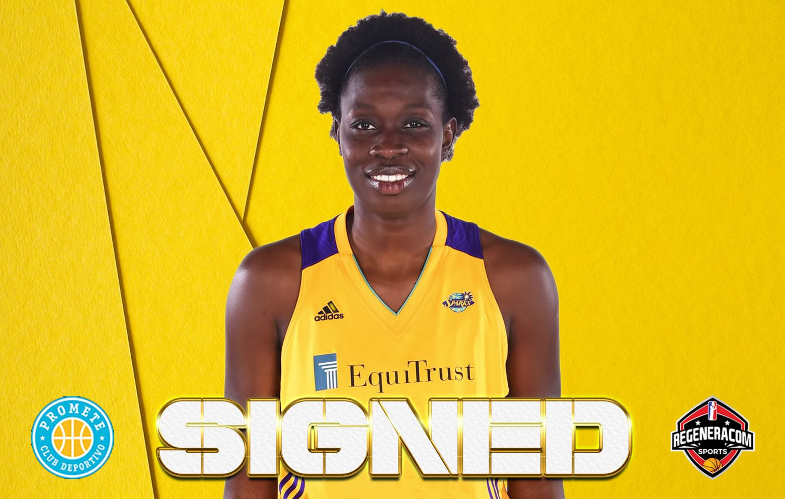 MAIMOUNA DIARRA has signed with Campus Promete for the 2021/22 season