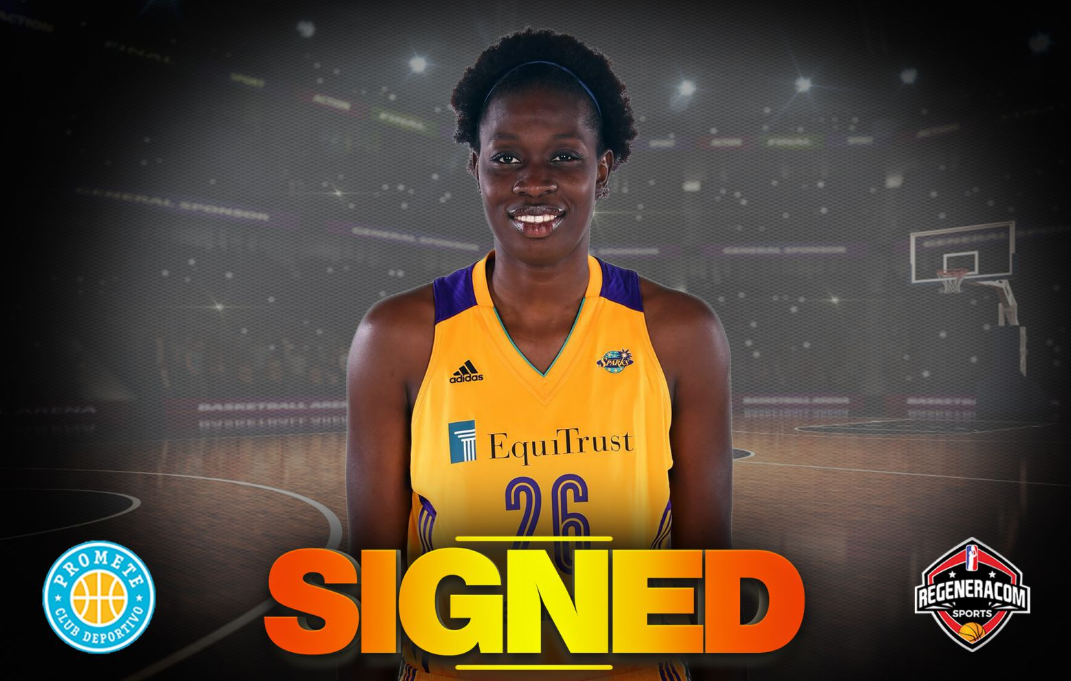 MAIMOUNA DIARRA has signed in Spain with Campus Promete