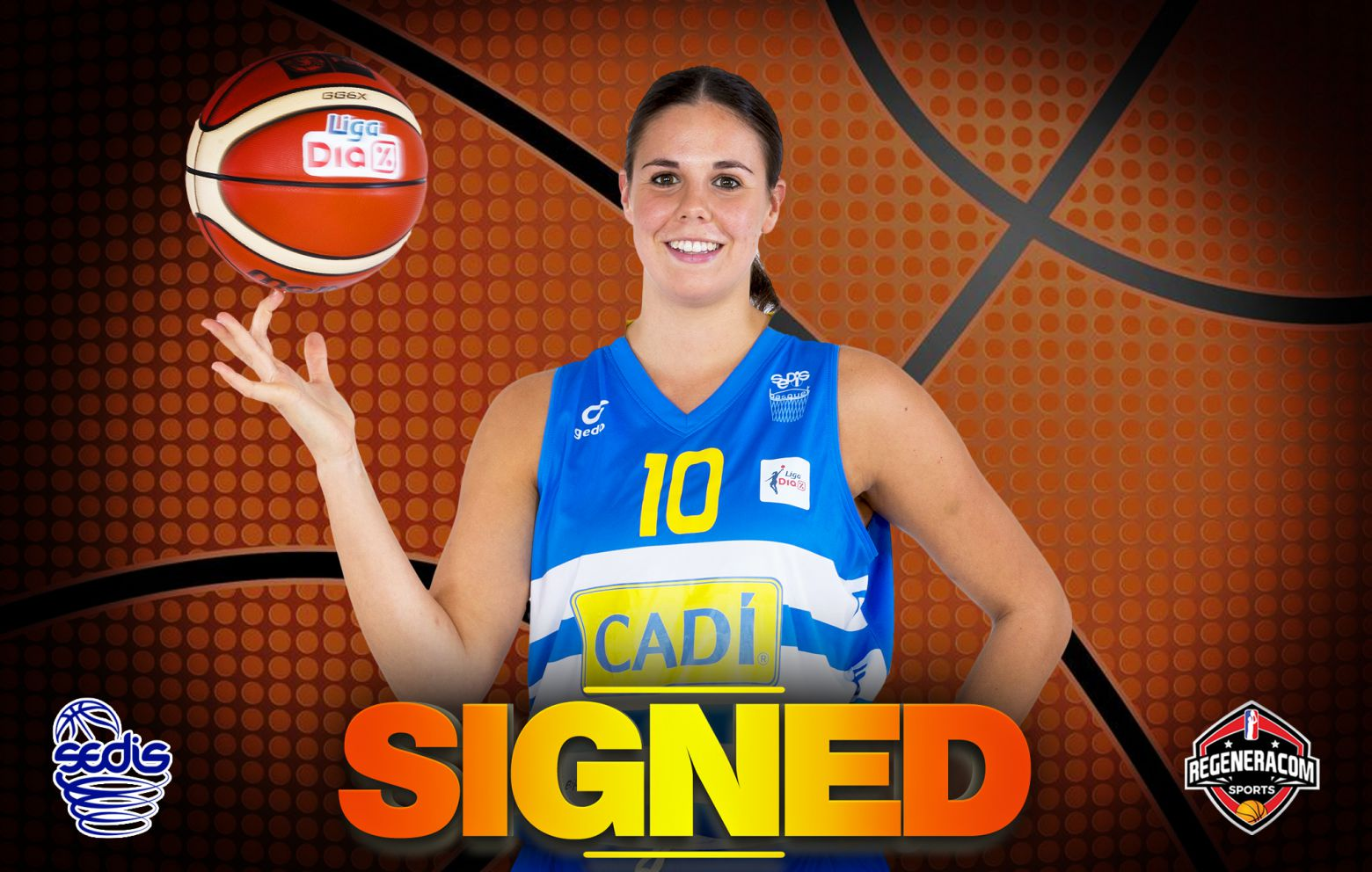 YURENA DÍAZ has signed in Spain with Cadí La Seu