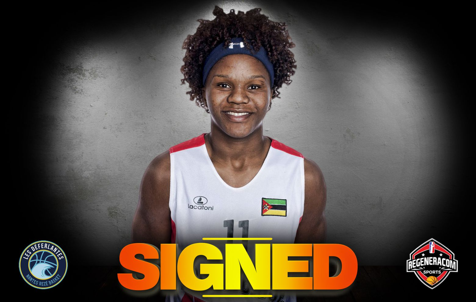 LEIA DONGUE has signed in France with Nantes