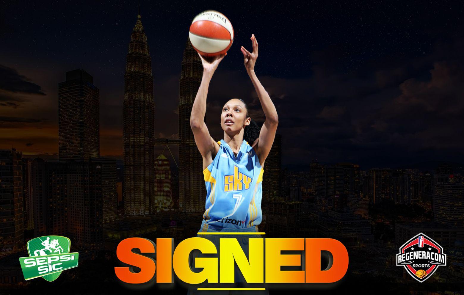 REBEKAH GARDNER has signed with Sepsi SIC