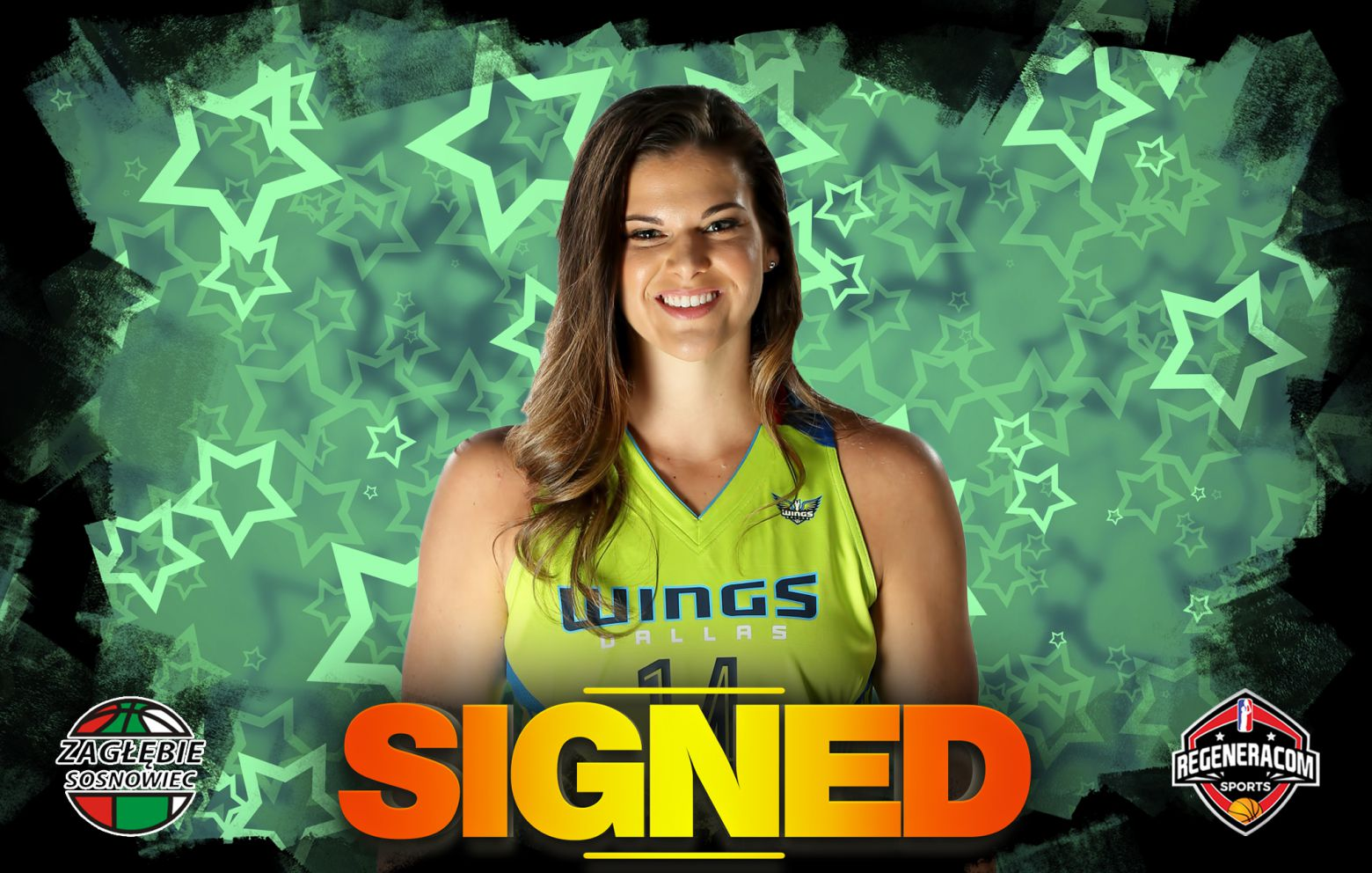 TORI JAROSZ has signed with Sosnowiec