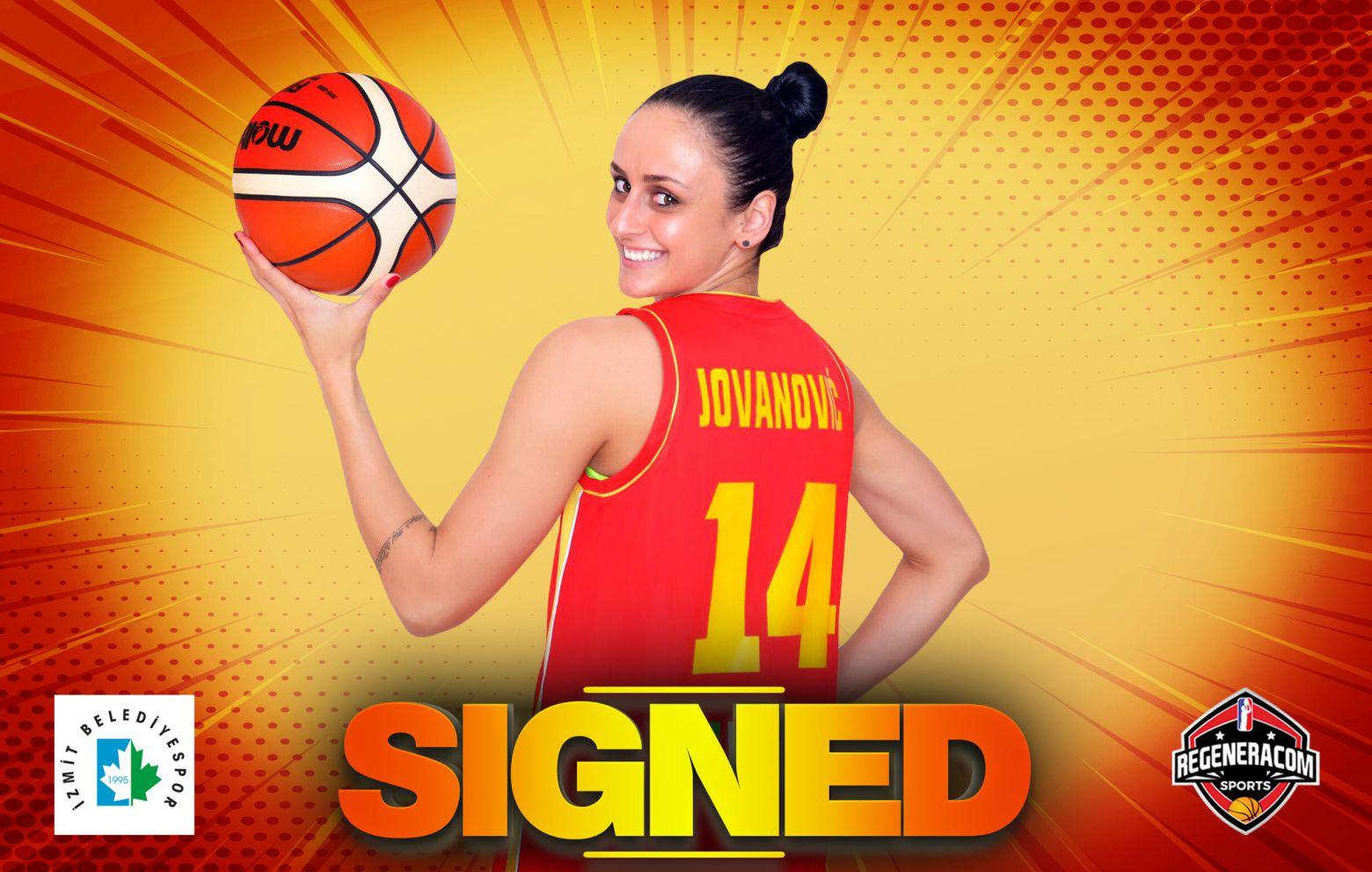 MILICA JOVANOVIC has signed in Turkey with Izmit