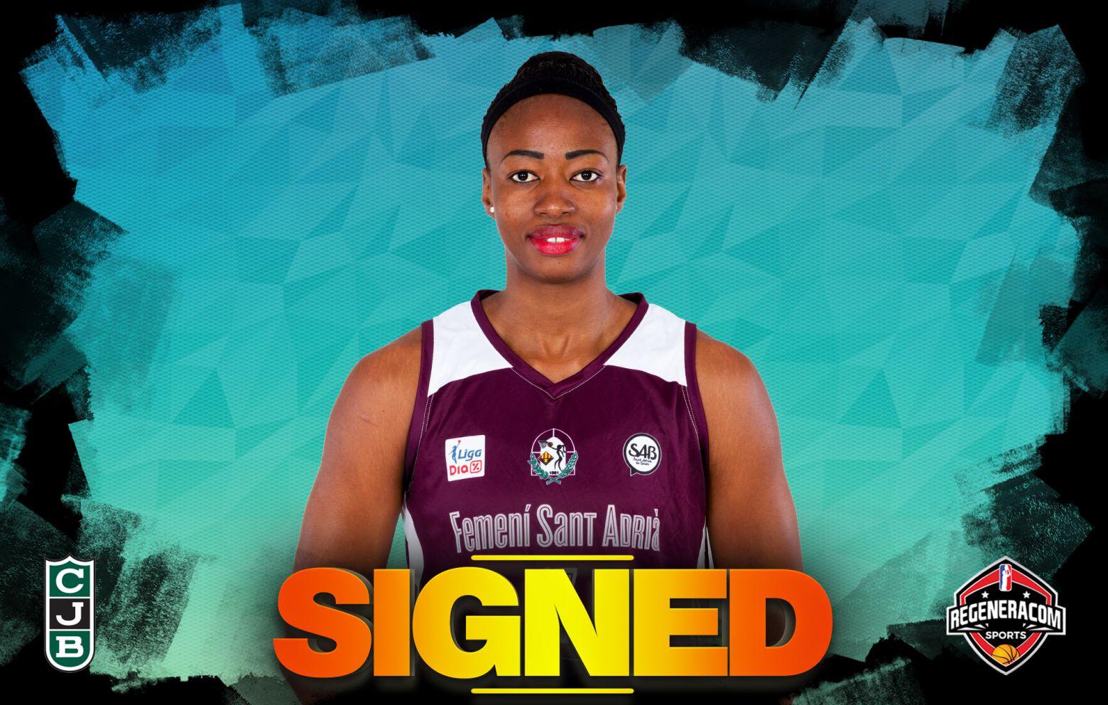 MINATA KEITA has signed with Joventut Badalona
