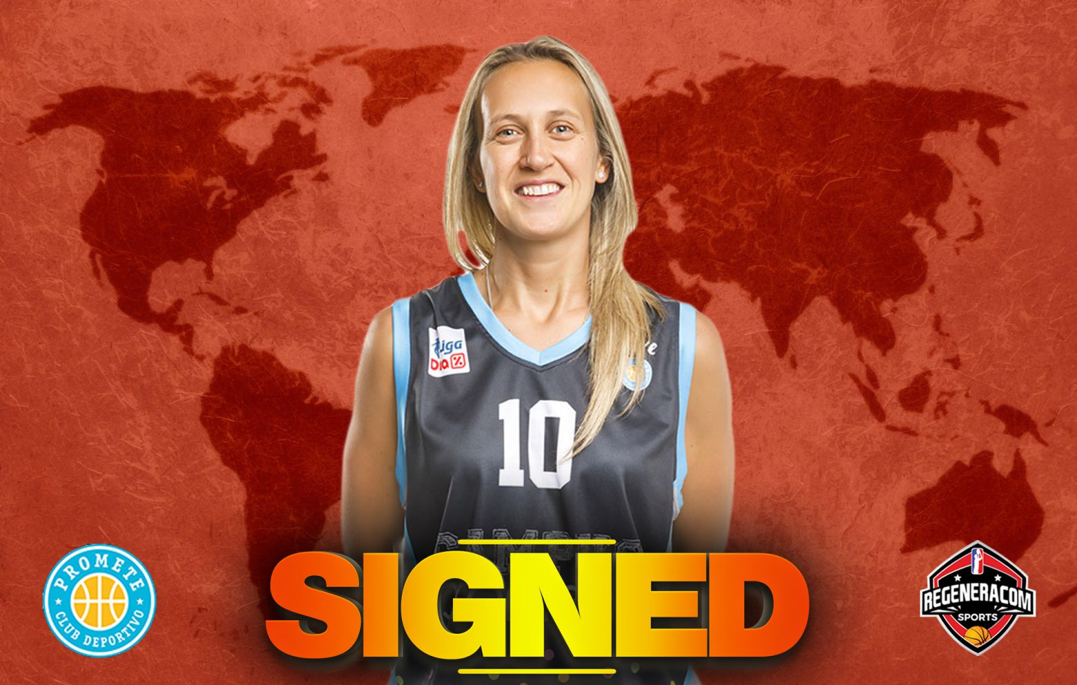 ADRIJANA KNEZEVIC has signed in Spain with Campus Promete