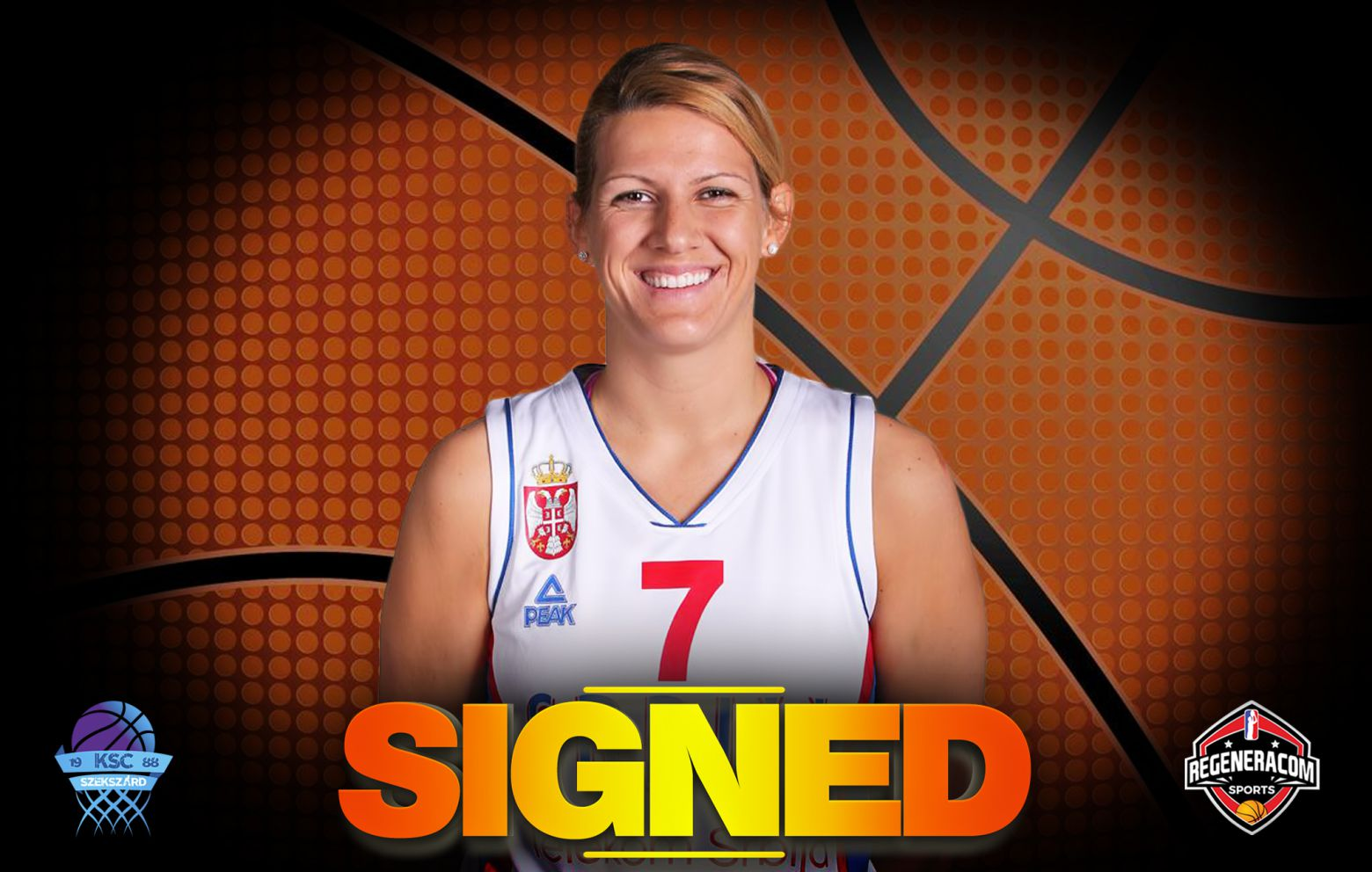 SARA KRNJIC has signed in Hungary with Szekszárd