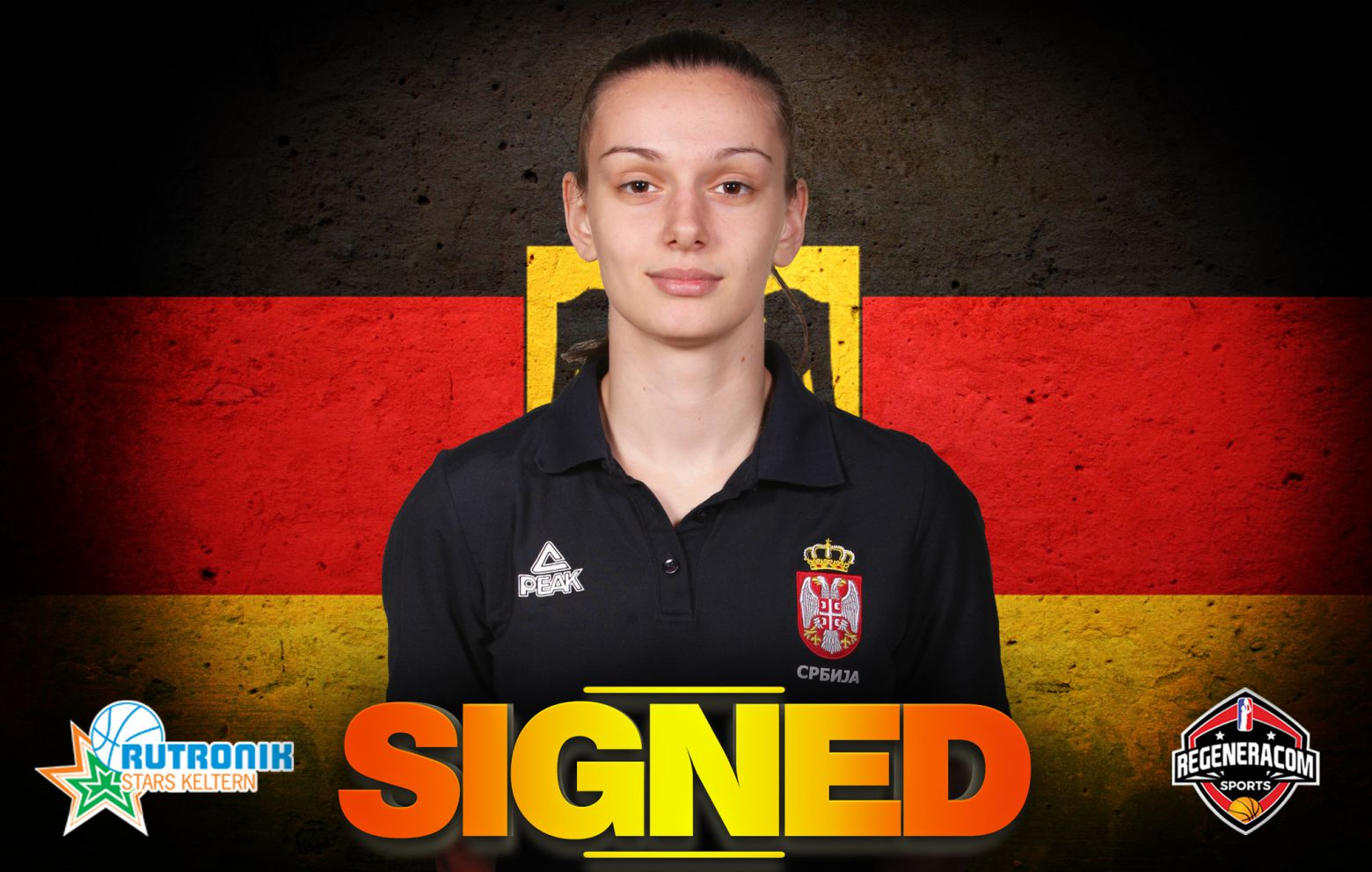 SANJA MANDIC has signed in Germany with Keltern