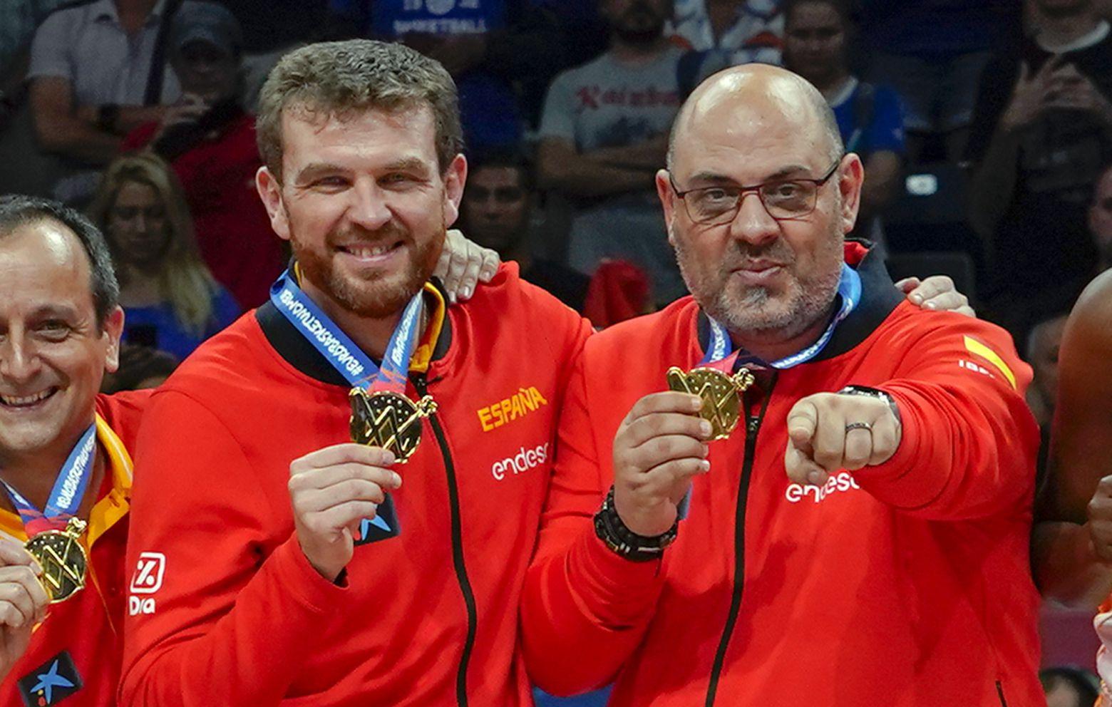 LUCAS MONDELO y CÉSAR RUPÉREZ, Medalla de Oro con España en el Campeonato de Europa