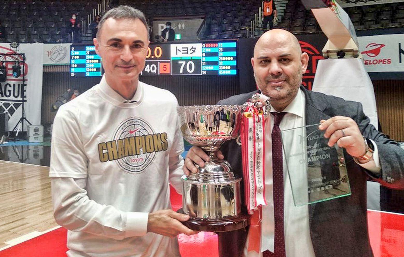 LUCAS MONDELO and IVÁN TORINOS have won the Japanese League