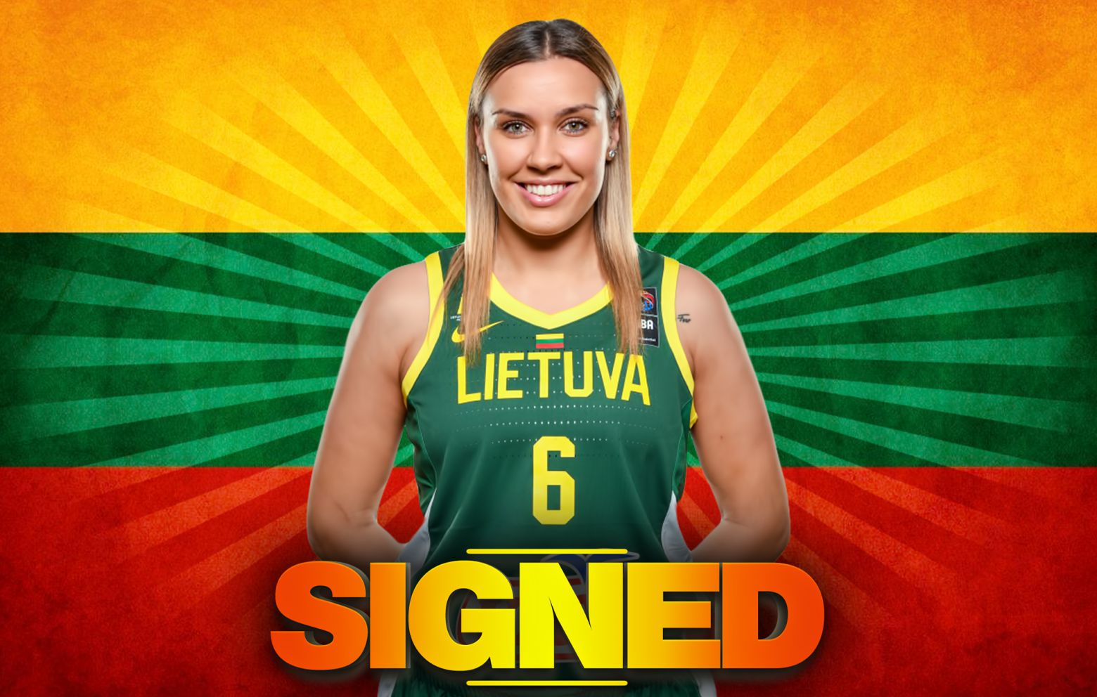 KAMILE NACICKAITE has signed with Regeneracom Sports