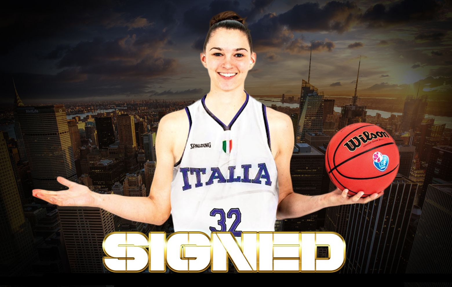 SAMANTHA OSTARELLO has signed with Regeneracom Sports