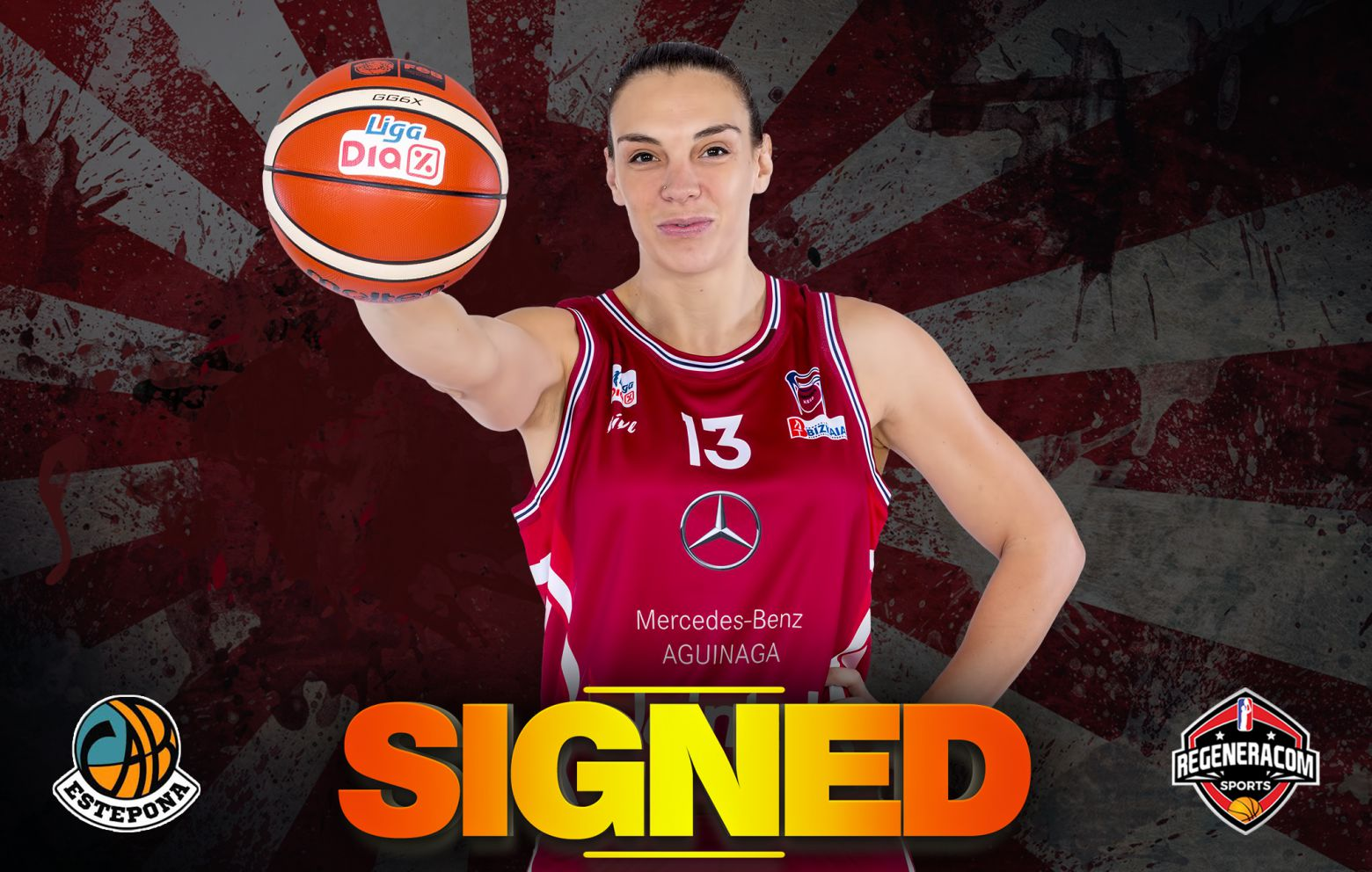 LUCI PASCUA has signed with Estepona