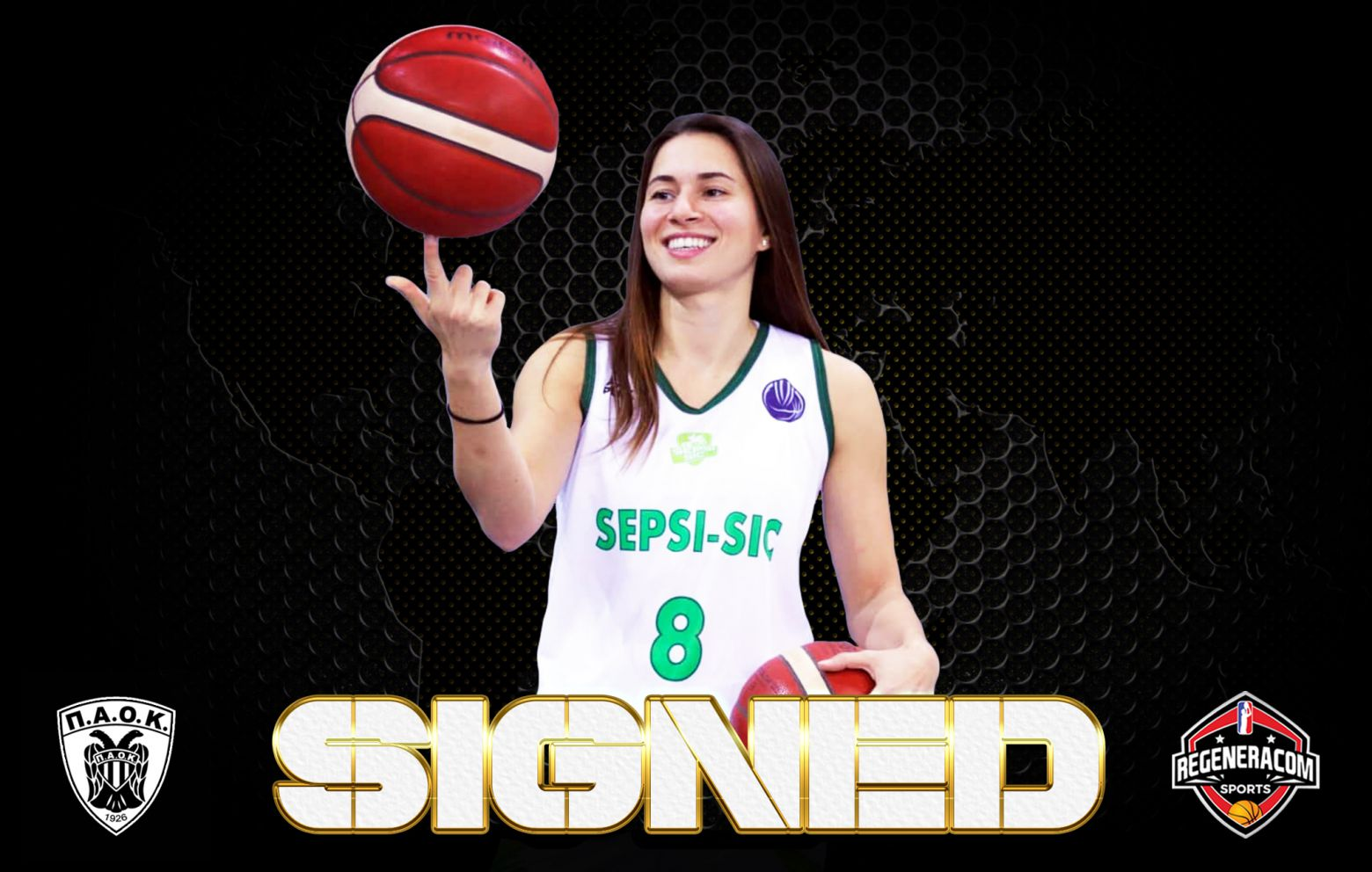 PINELOPI PAVLOPOULOU has signed with PAOK for the 2021/22 season