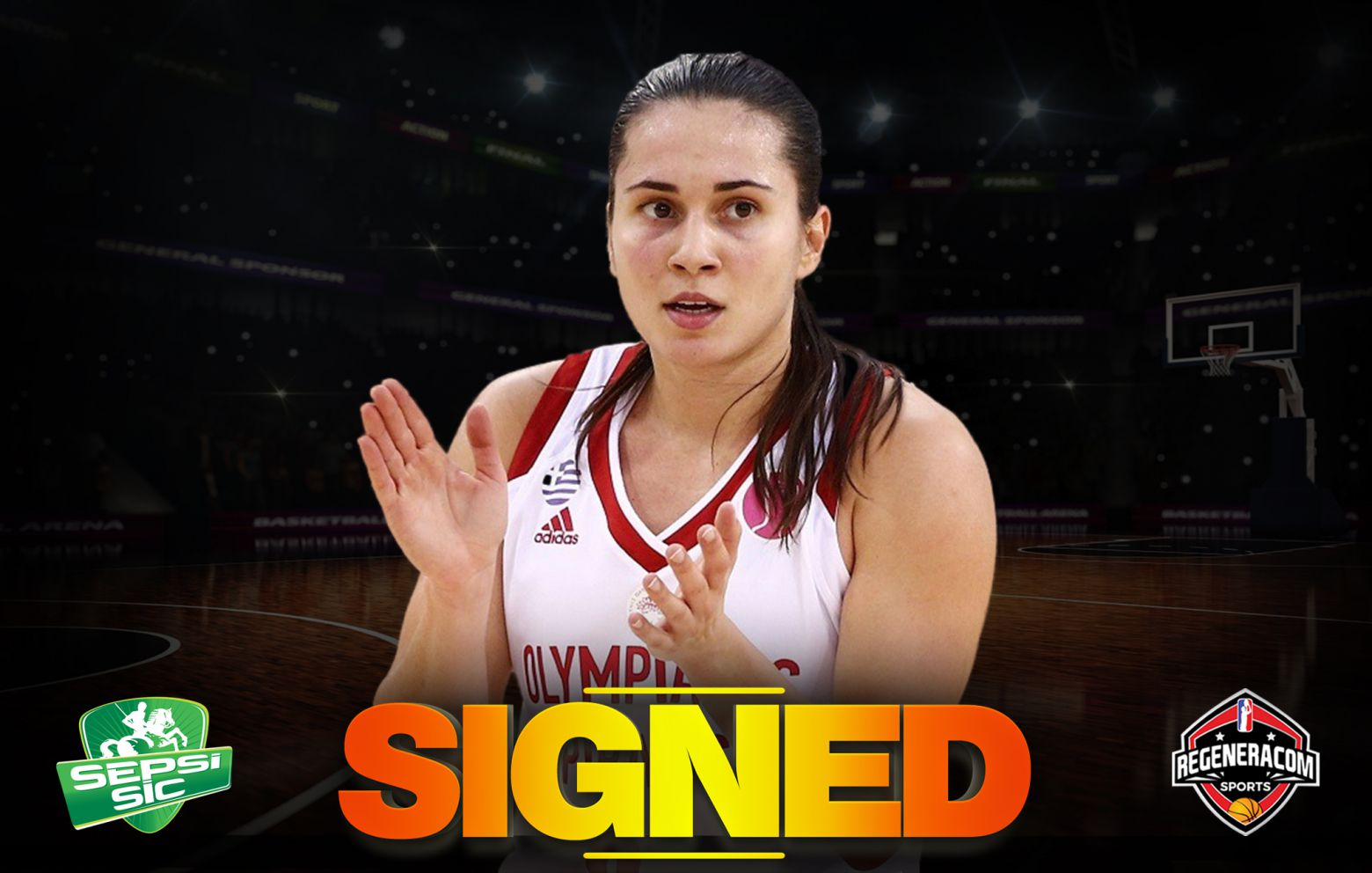 PINELOPI PAVLOPOULOU has signed with Sepsi SIC