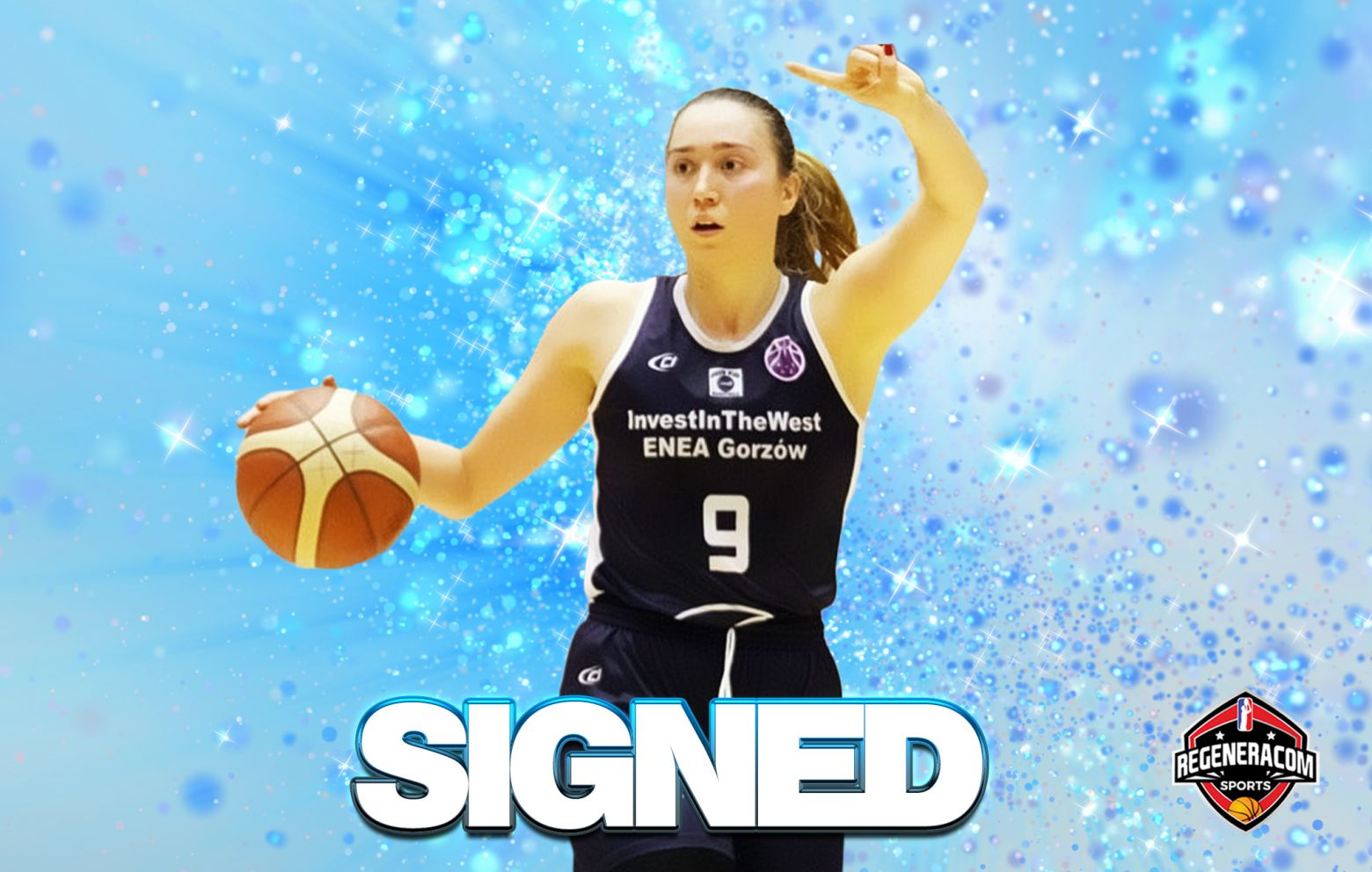 ANNAMARIA PREZELJ has signed with Regeneracom Sports