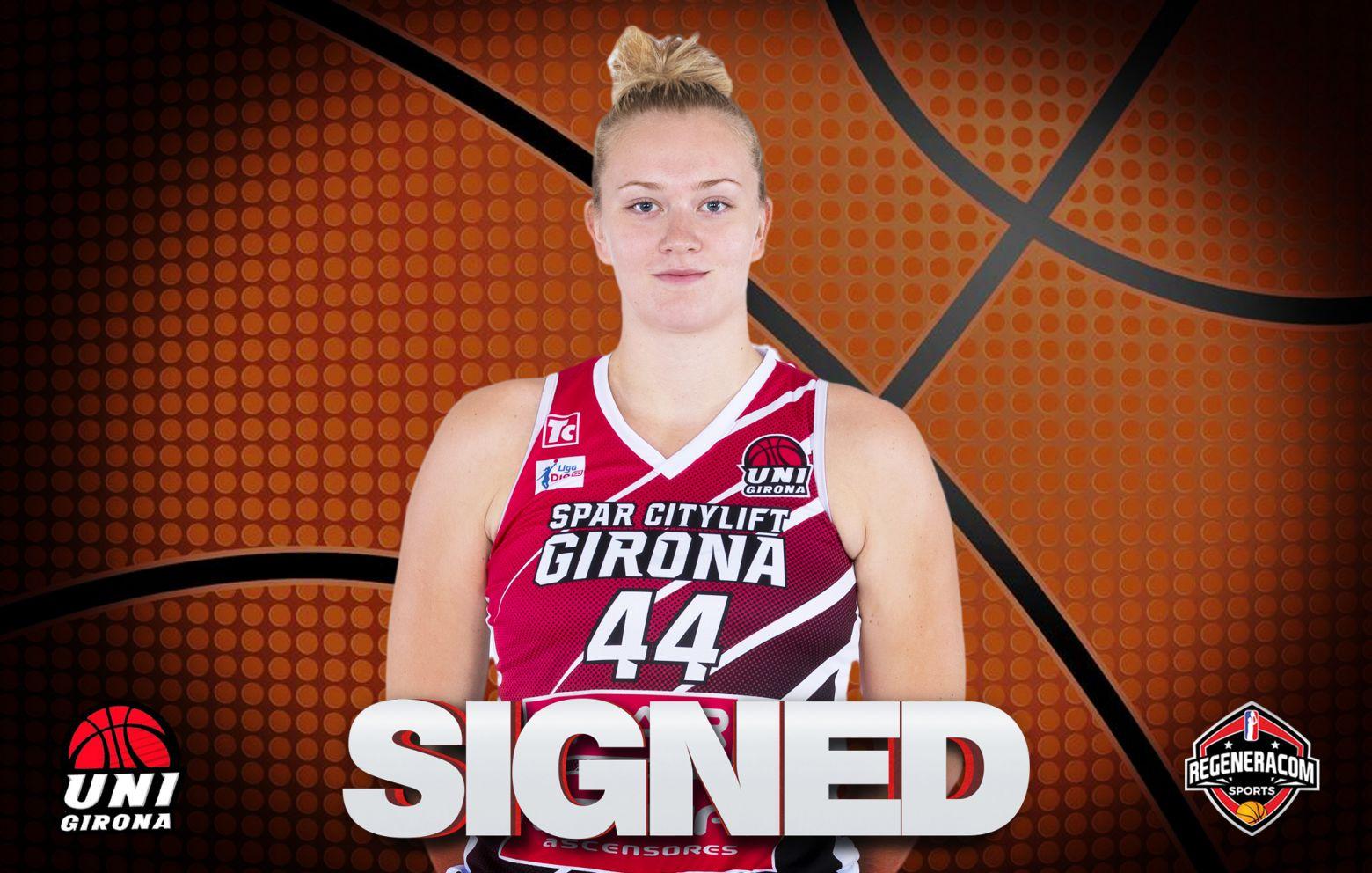 JULIA REISINGEROVA has signed in Spain with Uni Girona