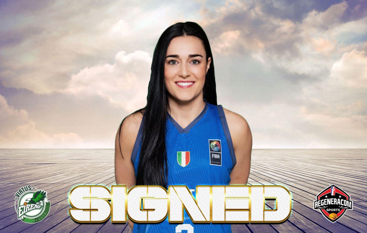 NICOLE ROMEO has signed with Ragusa for the 2021/22 season