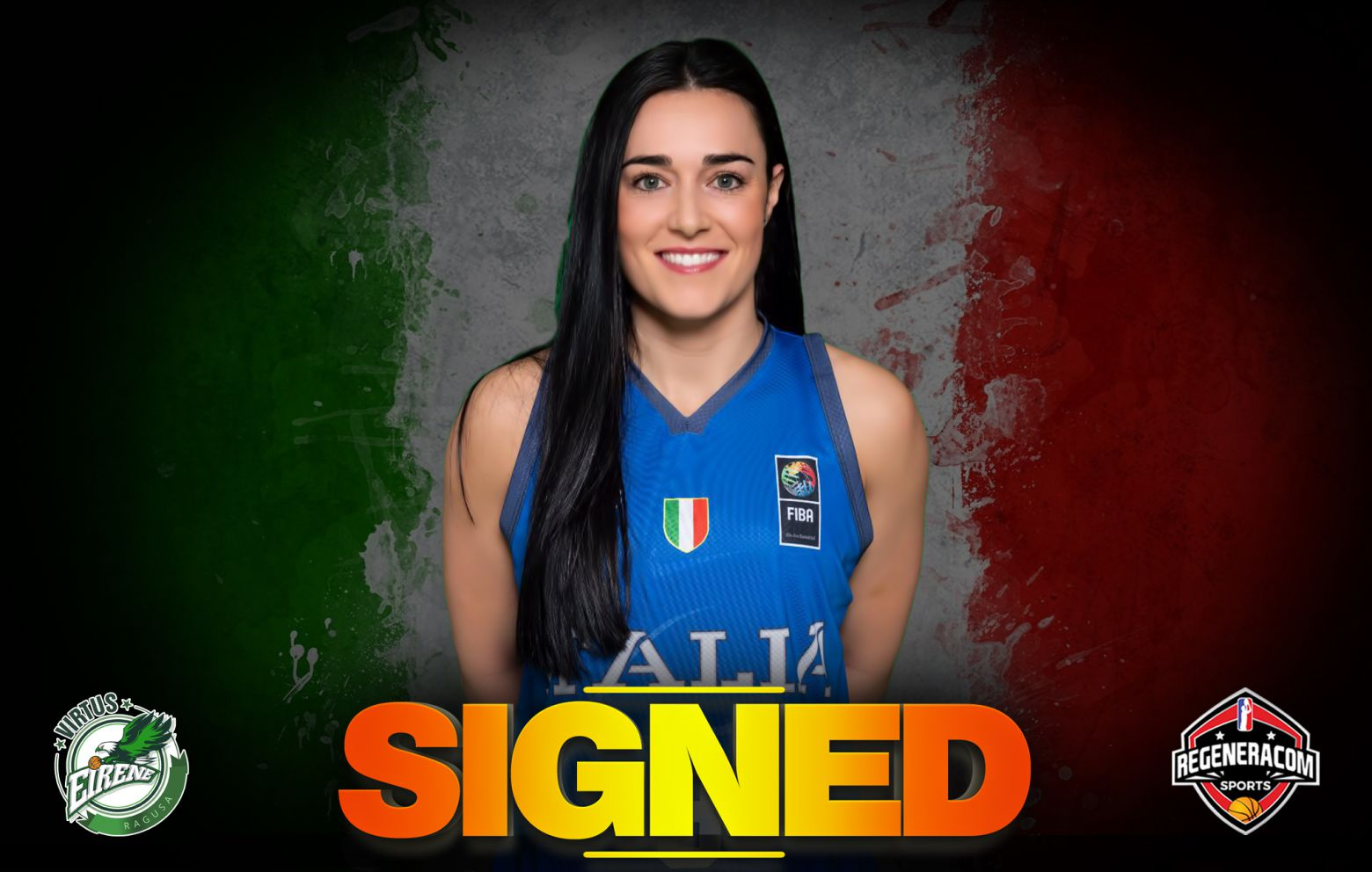 NICOLE ROMEO will play for Ragusa in the 2020/21 season