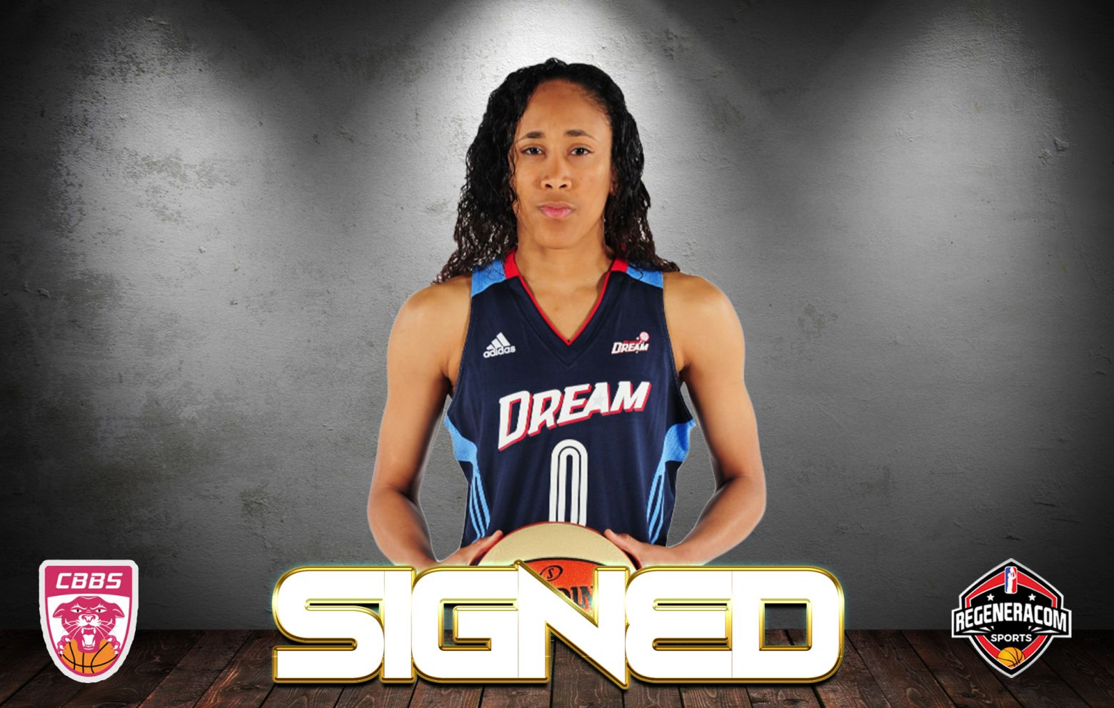 MEIGHAN SIMMONS has signed in France with Charnay