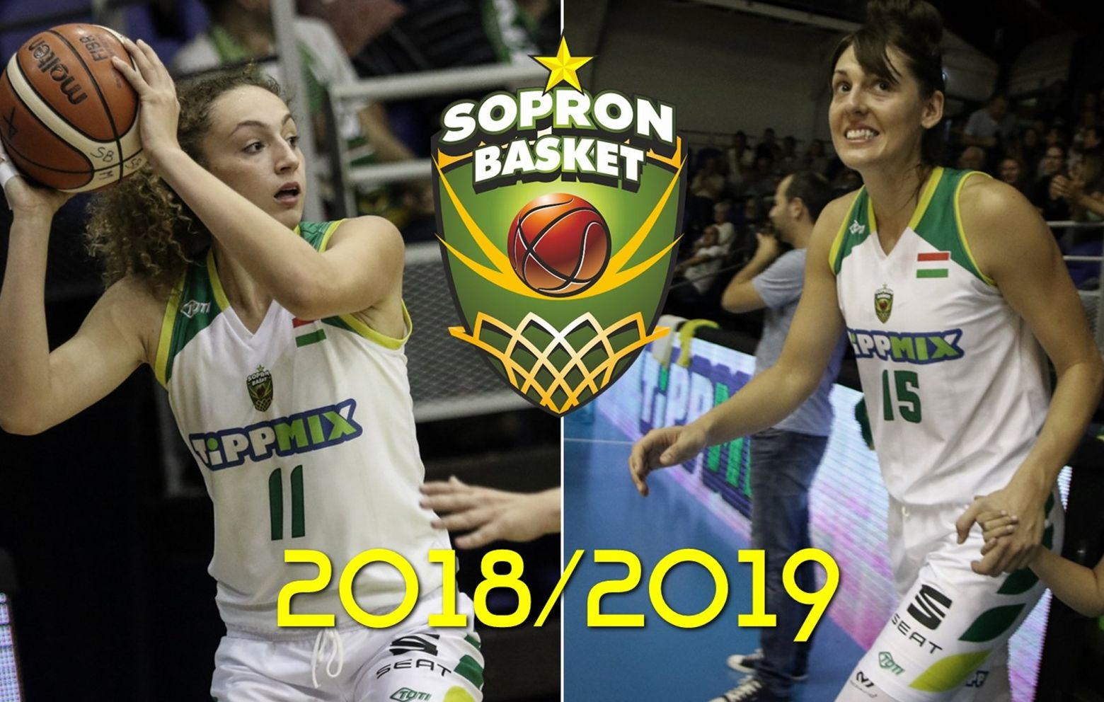 ALEKSANDRA CRVENDAKIC and TINA JOVANOVIC have re-signed with Sopron Basket for the 2018/19 season