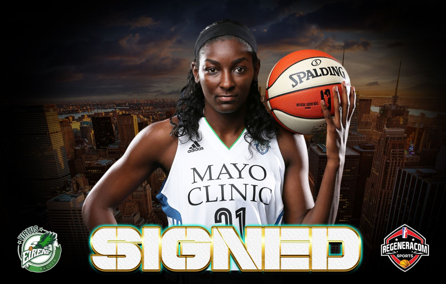 ASIA TAYLOR has signed in Italy with Ragusa for the 2021/22 season