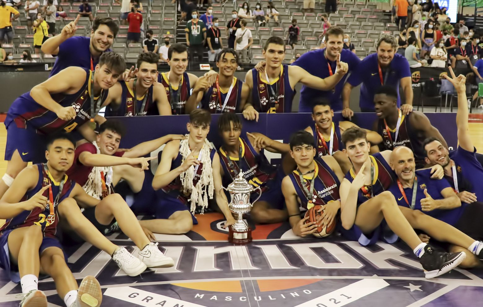 FABIÁN TÉLLEZ has won the U18 Spanish Championship with F.C.Barcelona