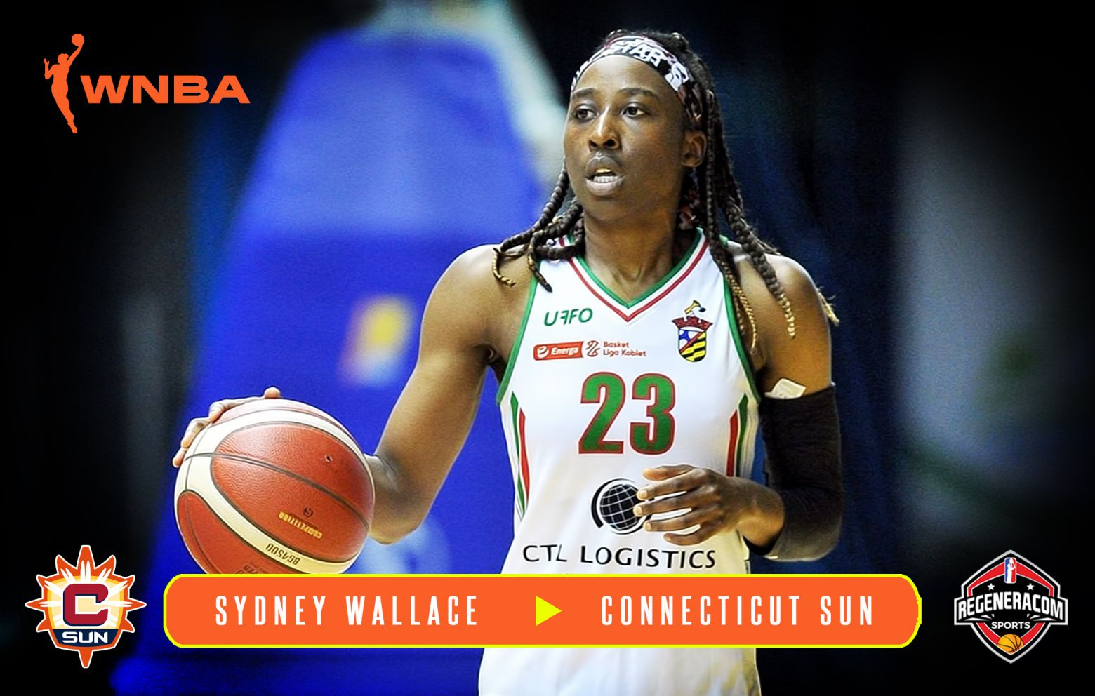 SYDNEY WALLACE has signed with the Connecticut Sun for the 2021 WNBA
