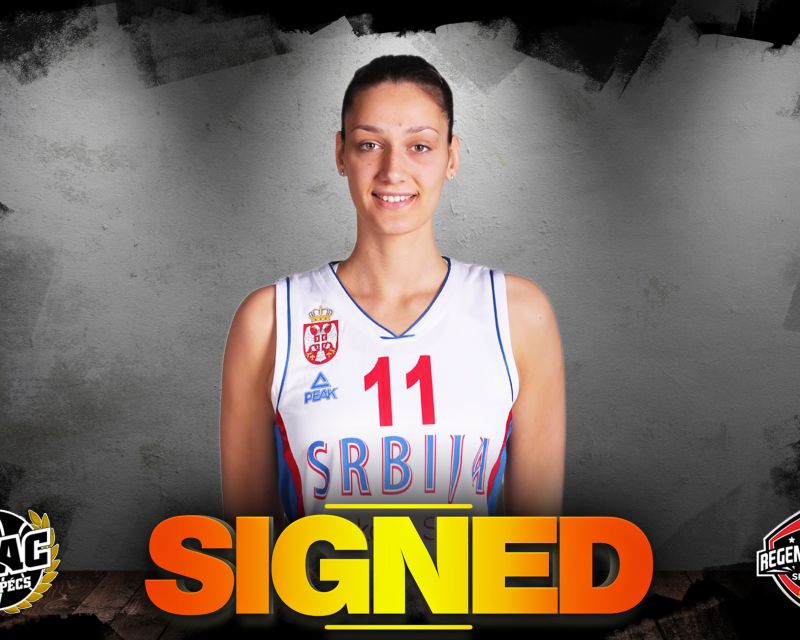 TIJANA AJDUKOVIC has signed in Hungary with PEAC Pécs