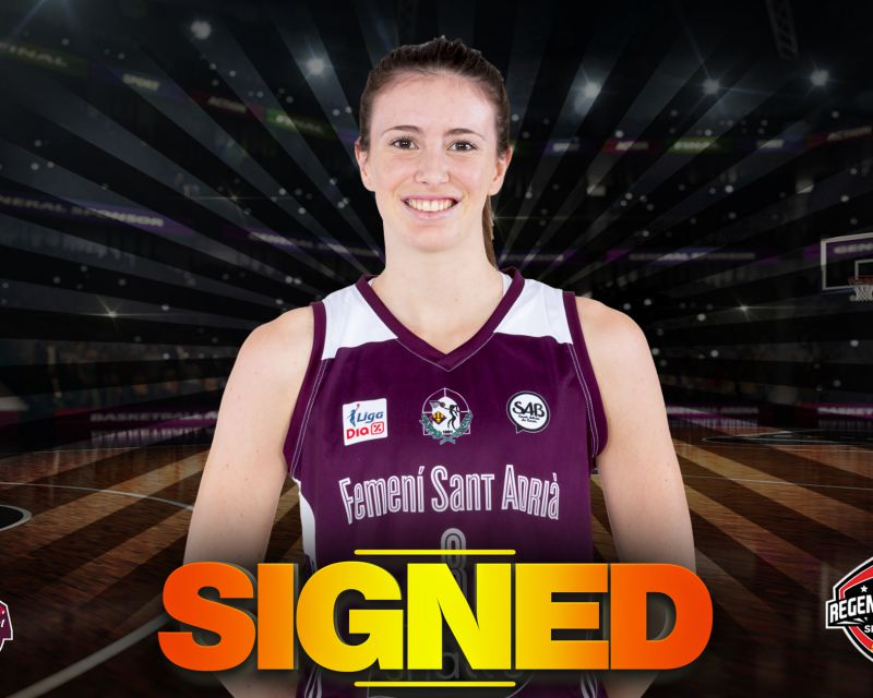 AINA AYUSO has signed with Casademont Zaragoza