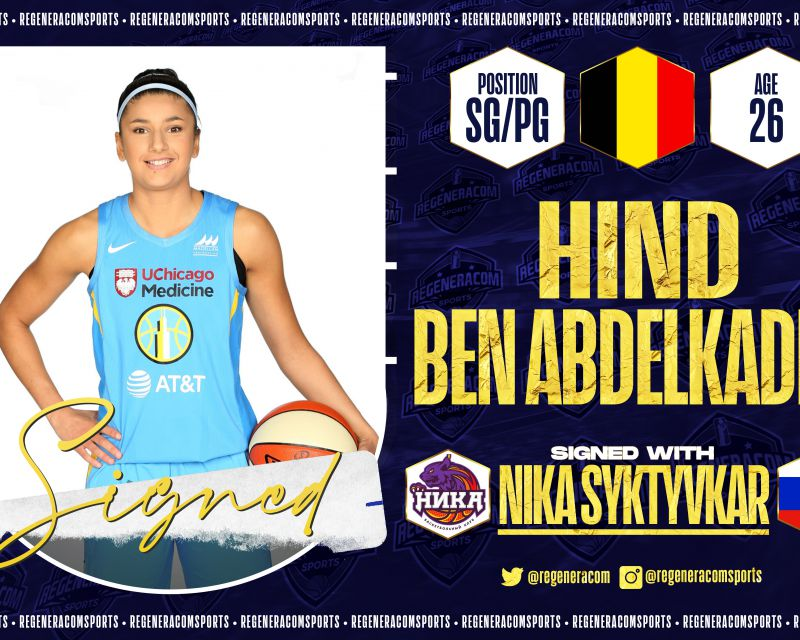 HIND BEN ABDELKADER has signed in Russia with NIKA Syktyvkar for the 2021/22 season
