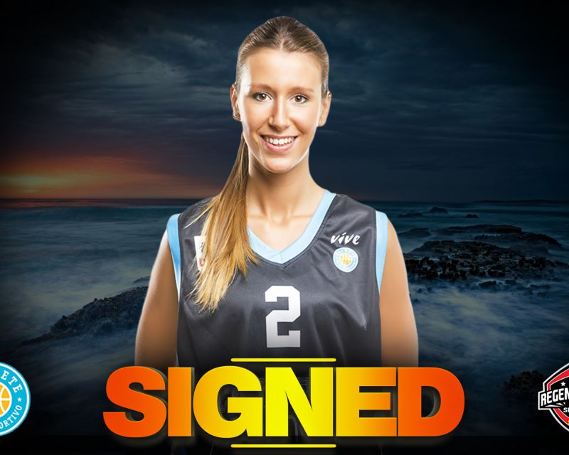 ANI CALVO has signed with Campus Promete