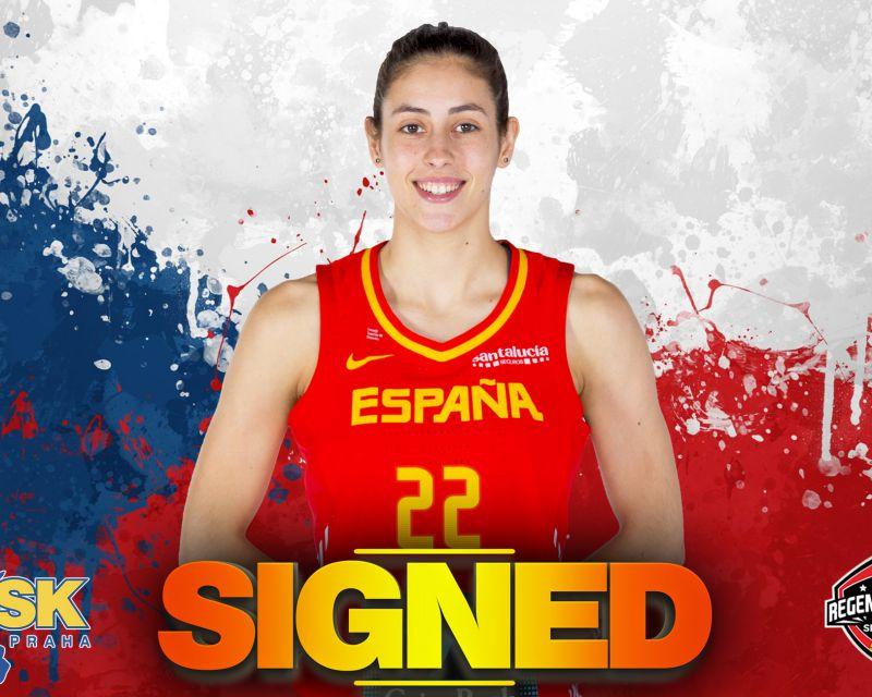 MARÍA CONDE has signed with USK Praha