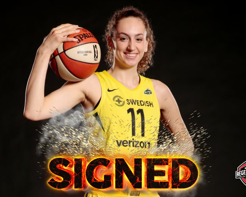 ALEKSANDRA CRVENDAKIC has signed in France with Asvel Lyon