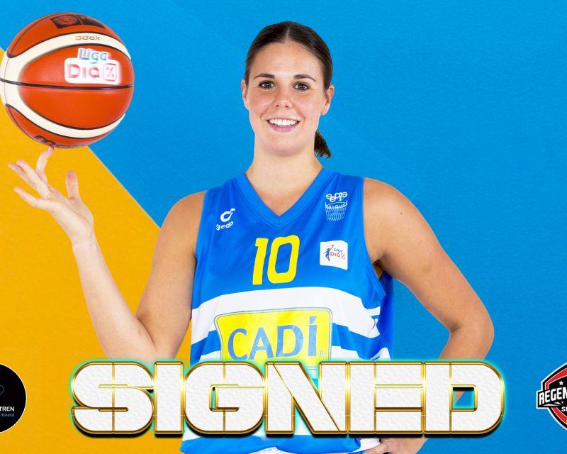 YURENA DÍAZ has signed with IDK Euskotren for the 2021/22 season