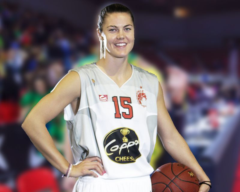 HAILEY DUNHAM has signed with Femení Sant Adrià