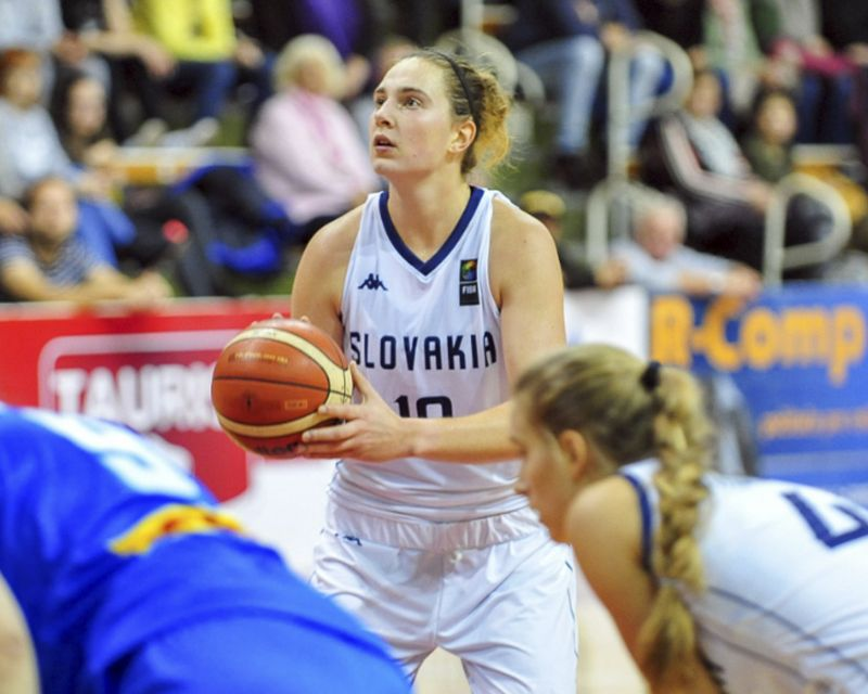ZOFIA HRUSCAKOVA has signed in Italy with Famila Schio