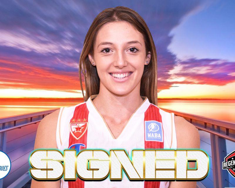 IVANA KATANIC has signed with Kangoeroes Basket Mechelen for the 2021/22 season