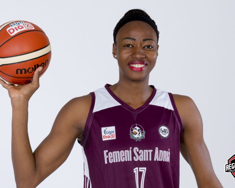 MINATA KEITA has re-signed with Femení Sant Adrià