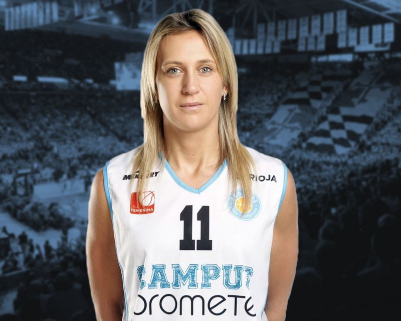 ADRIJANA KNEZEVIC has re-signed with Campus Promete