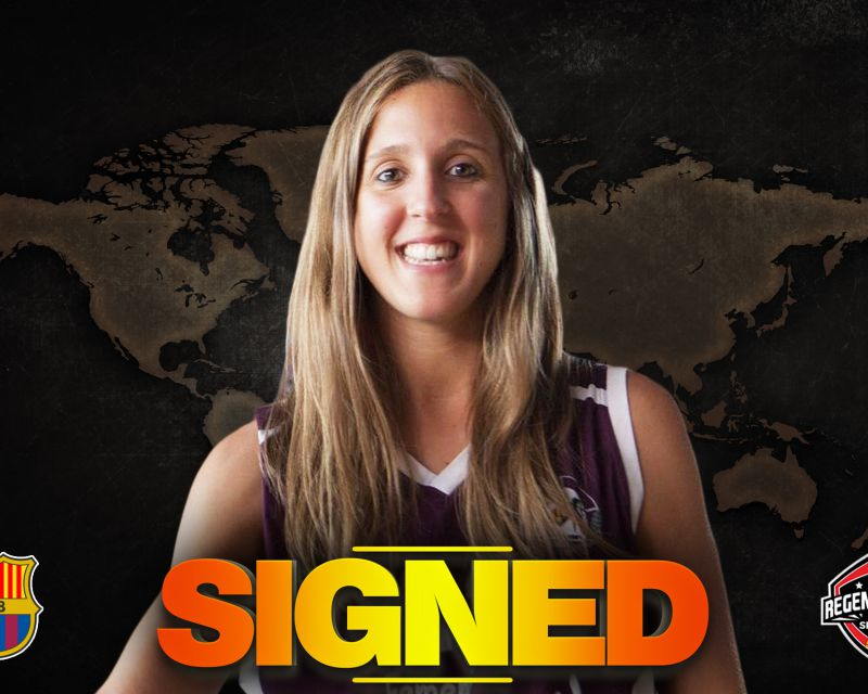 ITZIAR LLOBET has signed with Barça CBS