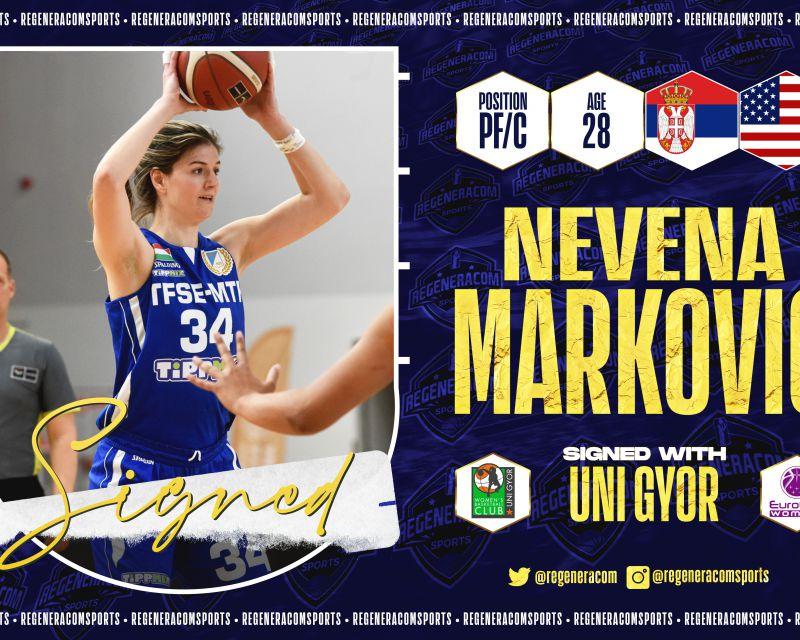 NEVENA MARKOVIC ha firmado en Hungría con Uni Györ para la temporada 2021/22