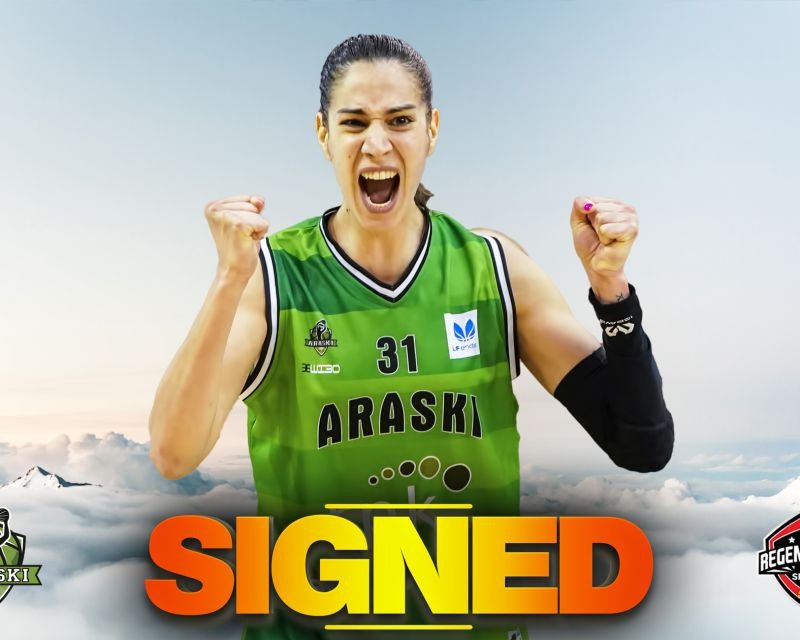 TANIA PÉREZ has signed with Araski