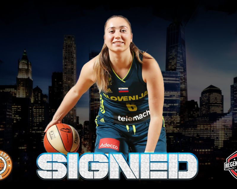 ANNAMARIA PREZELJ has signed in Spain with Zamarat