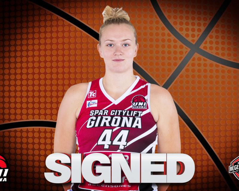 JULIA REISINGEROVA has signed in Spain with Uni Girona